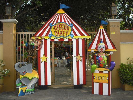 decoracion para el dia de niño entrada a la escuela