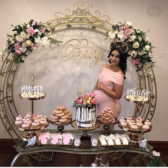 decoracionn baby shower niña 2019