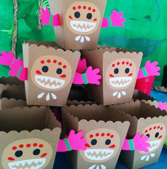 dulceros para fiesta hawaiana