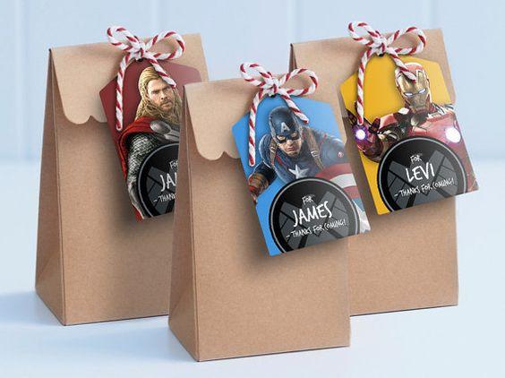 dulceros para fiestas infantiles economicos con bolsas de papel