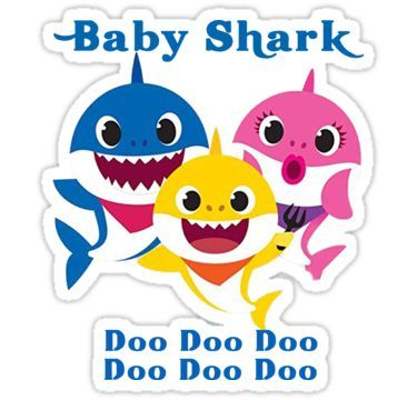 etiquetas baby shark