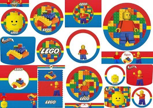 etiquetas de lego para imprimir