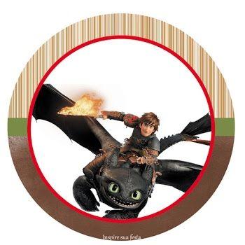 etiquetas para imprimir de tema como entrenar a tu dragon