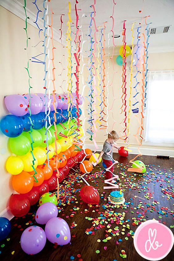 fiesta de cumpleaños en el kinder