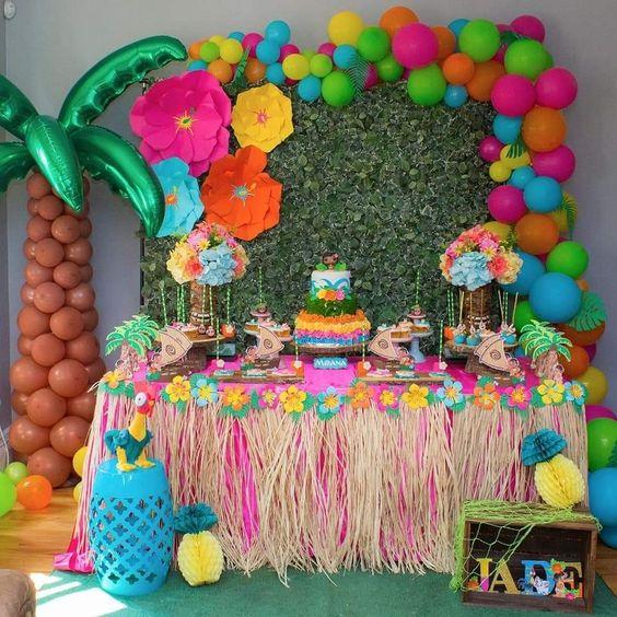 8ef41934a Fiesta hawaiana - Todo para organizar y decorar este cumpleaños