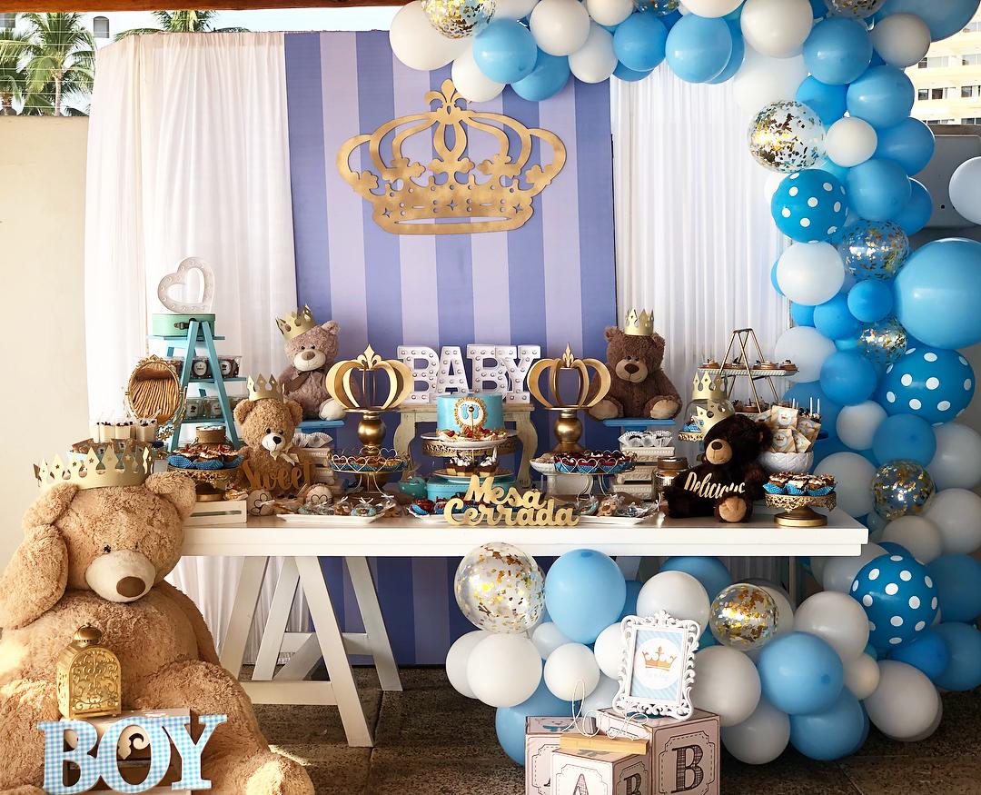 ideas de decoracion para baby shower de osos