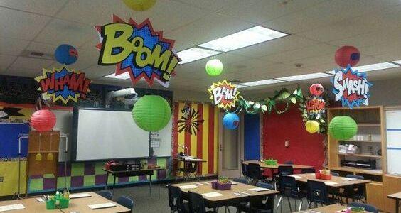 ideas originales para decorar el dia del niño en la escuela
