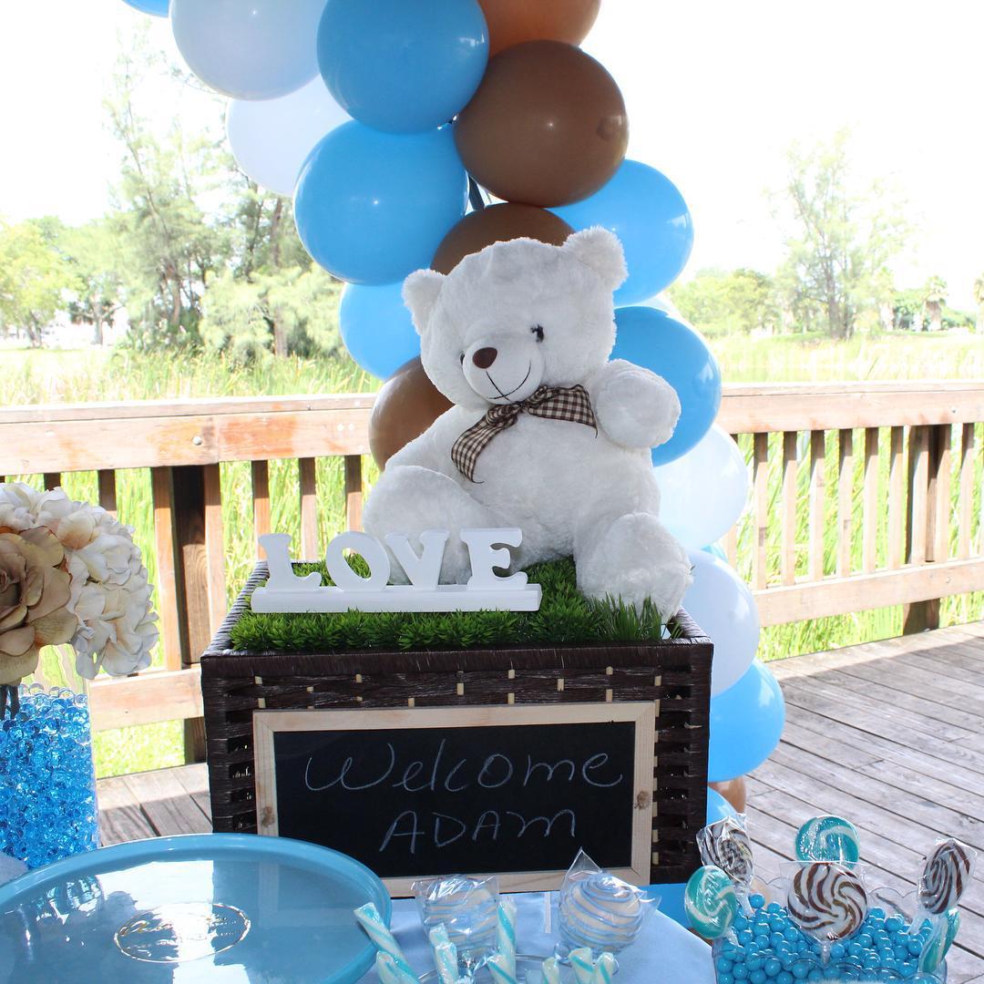 ideas para baby shower de osos
