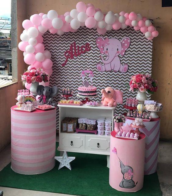 Ideas Para Decorar Baby Shower Nina.Imagenes De Decoracion Baby Shower Para Nina Unpastiche Org