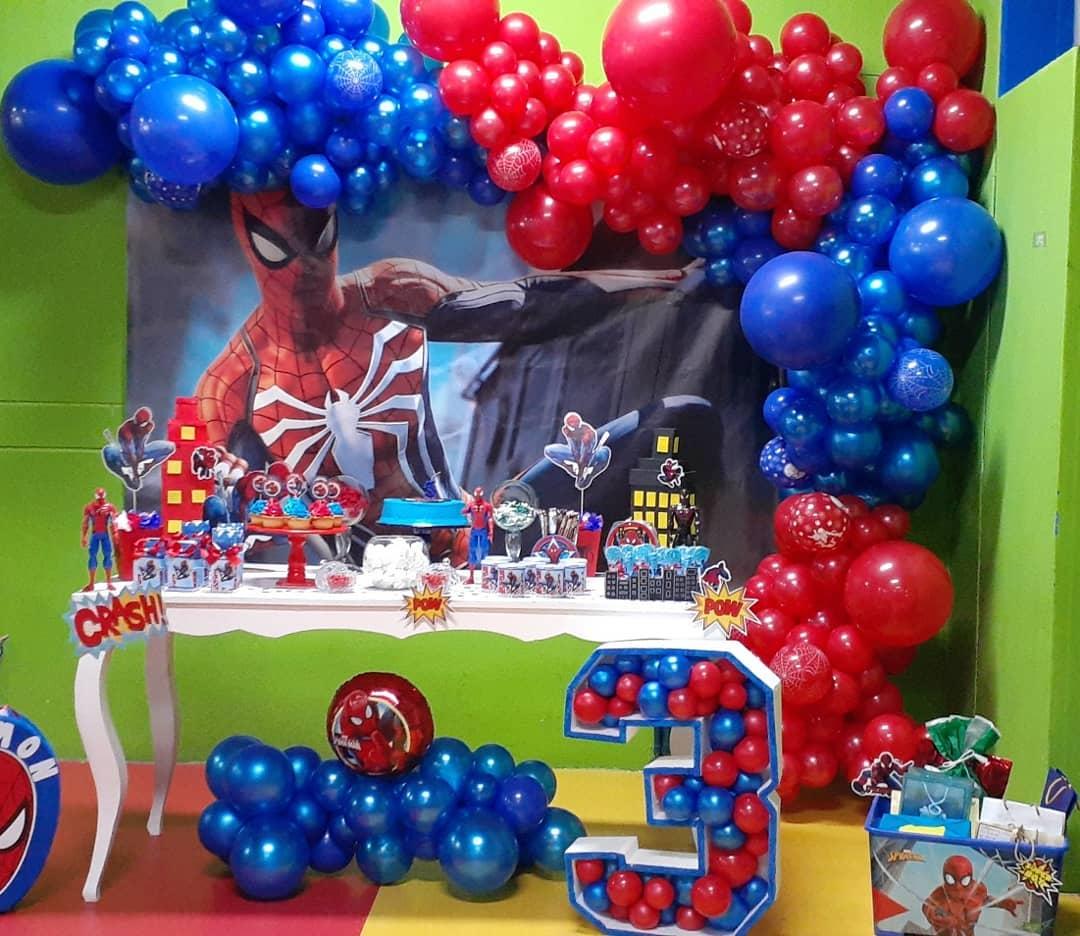 ideas para fiesta temática de spiderman