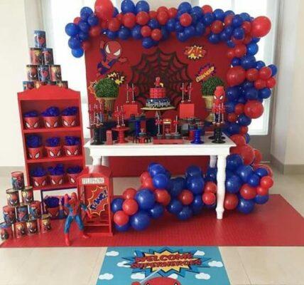 ideas para fiesta tematica de spiderman