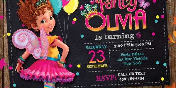 invitacion para fiesta de nanci fanci clancy
