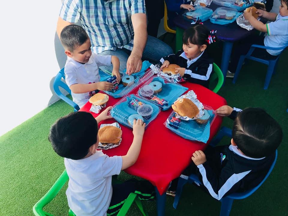 menu para fiesta infantil