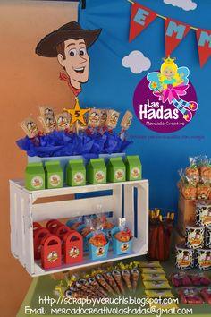 mesa de postres de Toys tory 4