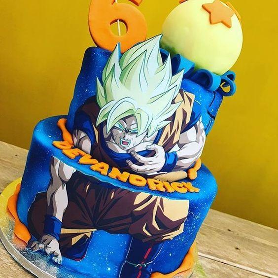 pastel de dragon ball super broly