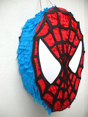 piñata del hombre arana