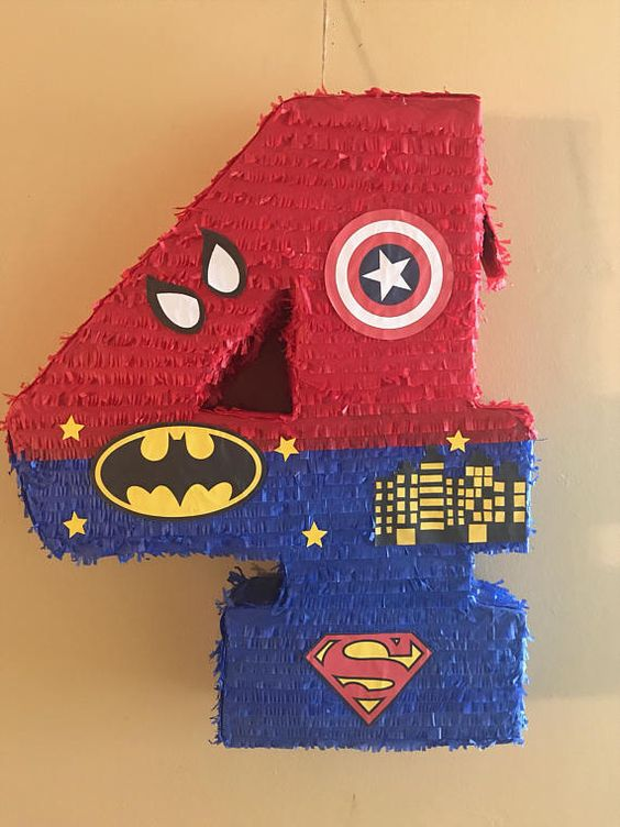 piñatas modernas para fiestas infantiles de numeros para niñospiñatas modernas para fiestas infantiles de numeros para niños