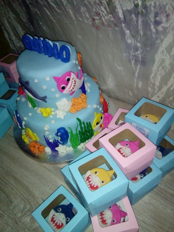 recuerdos baby shark