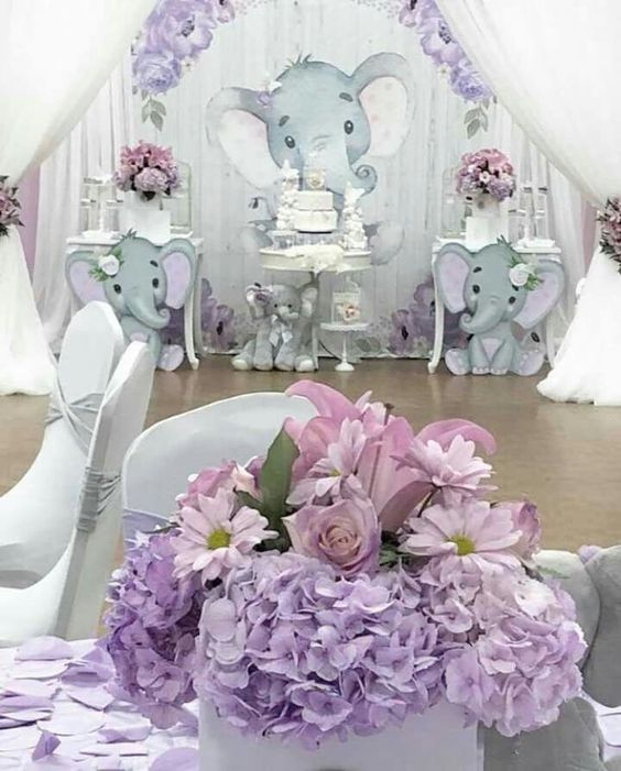 Ideas De Decoracion Baby Shower Nina.Tendencias En Color Para Decoracion Baby Shower Nina 2019