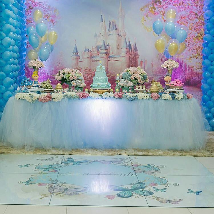 Ideas de decoracion para fiesta de la cenicienta
