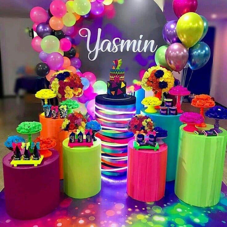 accesorios luminosos neón para fiesta