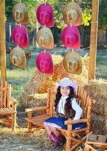 backdrops de fiesta de vaquera para niñas