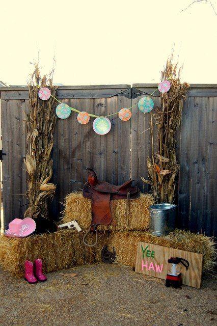backdrops para fiesta de XV años tematica de Vaquera