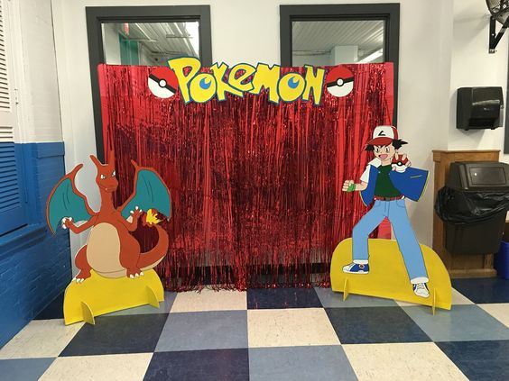 backdrops para fiesta tematica de pokemon