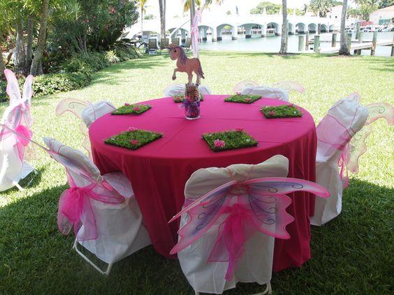 centros de mesa para fiesta tematica de mia and me