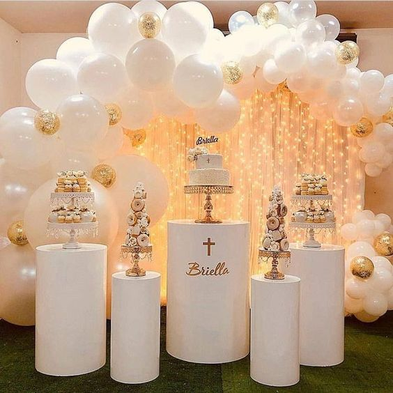 Ideas para decorar bautizos para nia este 2019 de for Decoracion bautizo en casa