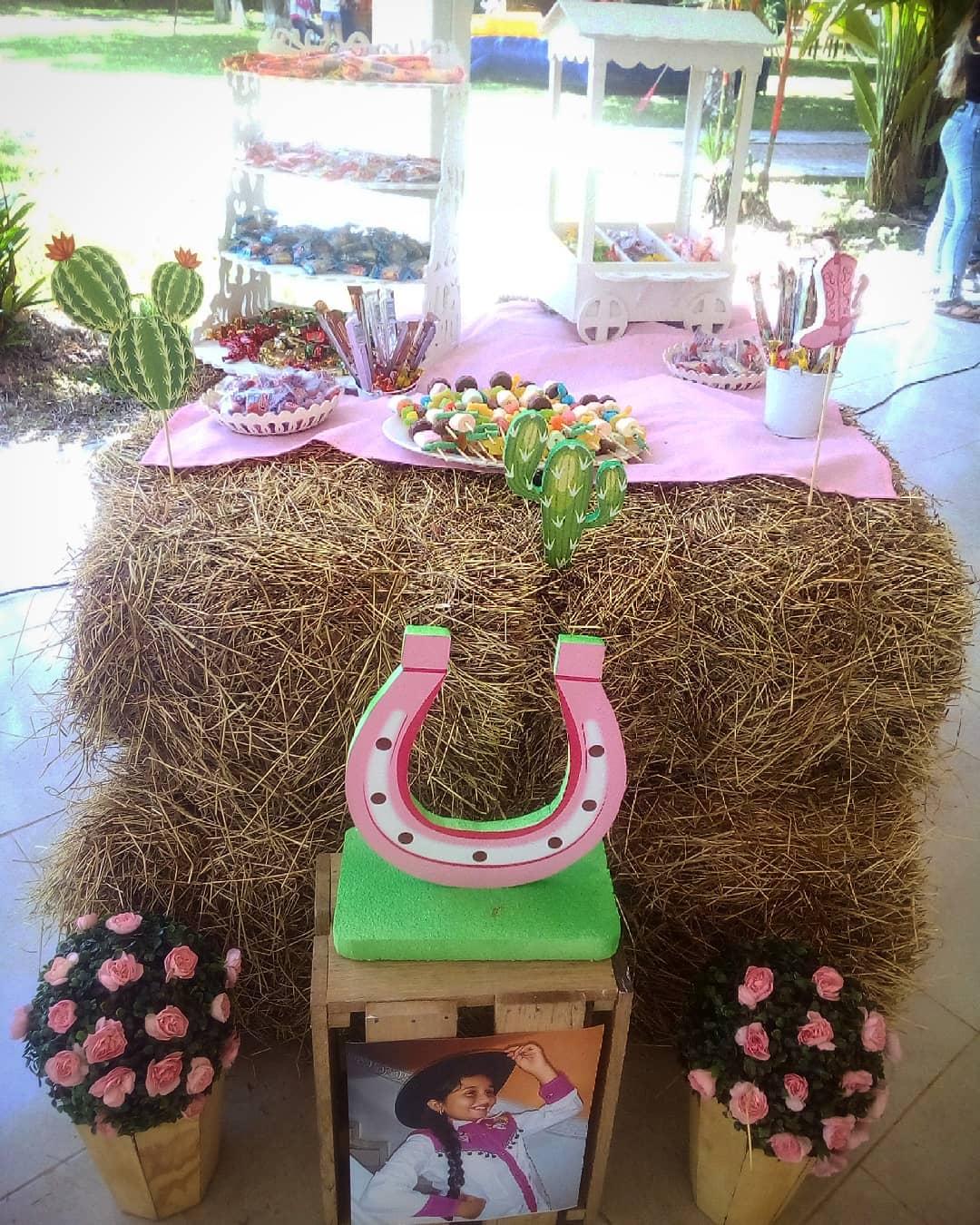Como decorar fiesta vaquera para niñas