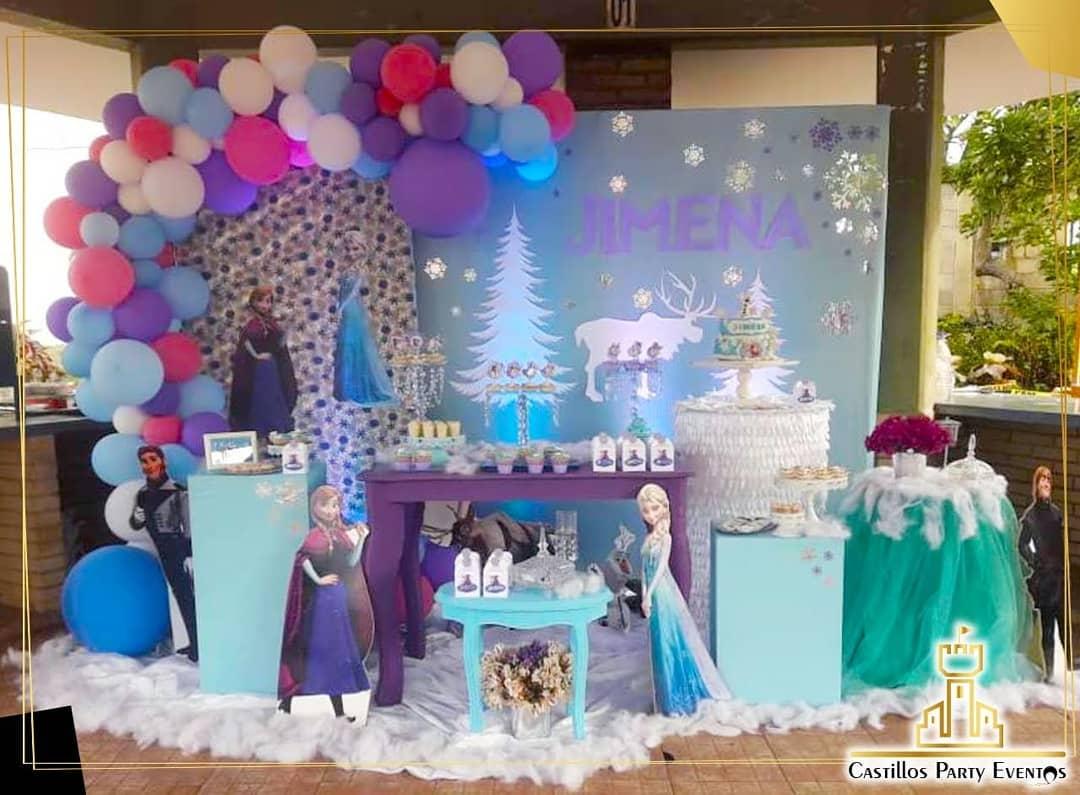 como decorar para fiesta de frozen