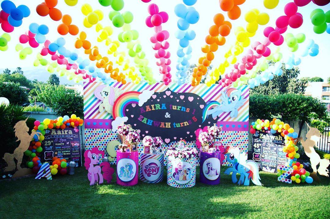 como decorar para fiesta de my little pony