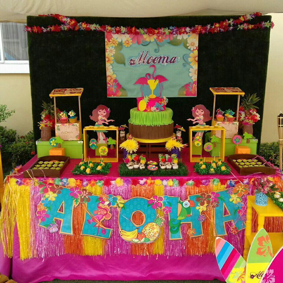Fiesta Hawaiana Todo Para Organizar Y Decorar Este Cumpleaños