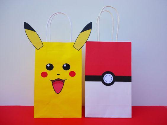 dulceros para fiesta tematica de pokemon