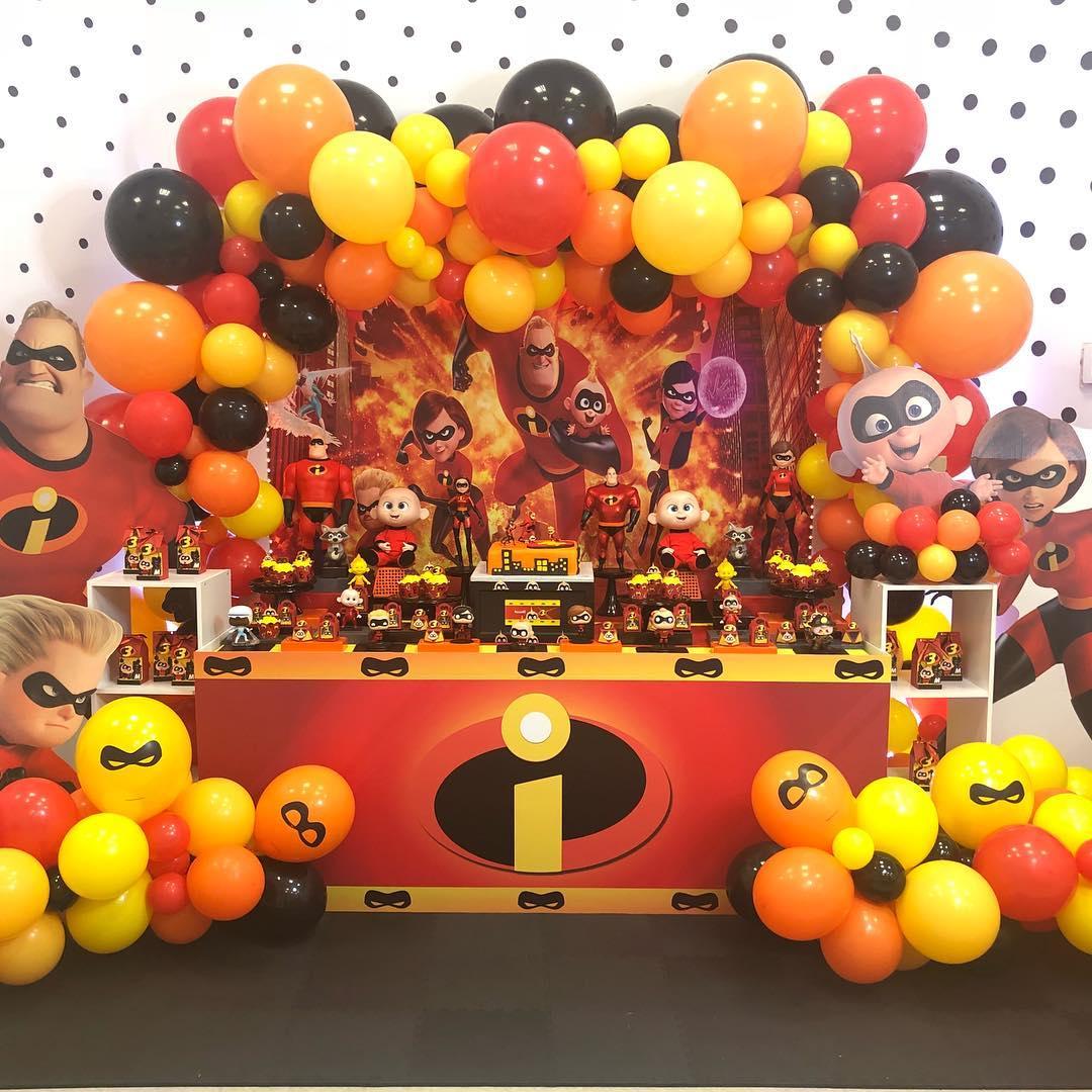 fiesta de cumpleaños de los Increibles