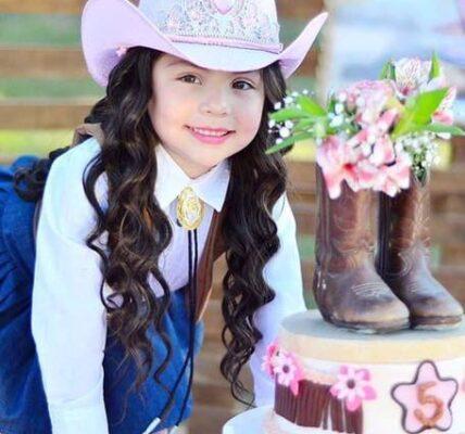 fiesta de vaquera para niñas