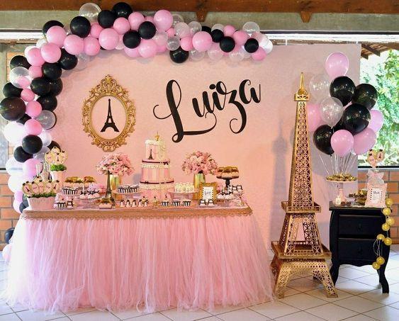 fiesta tematica de paris