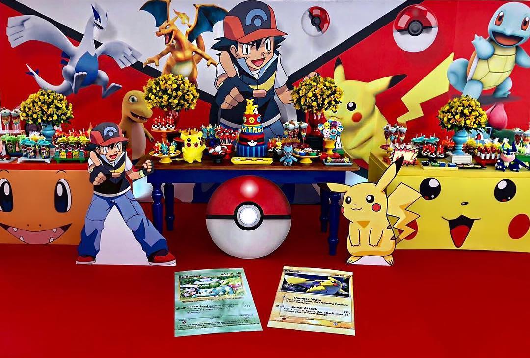 fiesta temática de pokemon