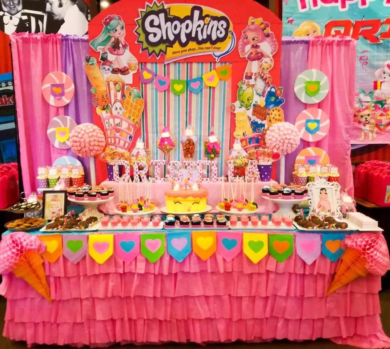 ideas fiesta temática de shopkins