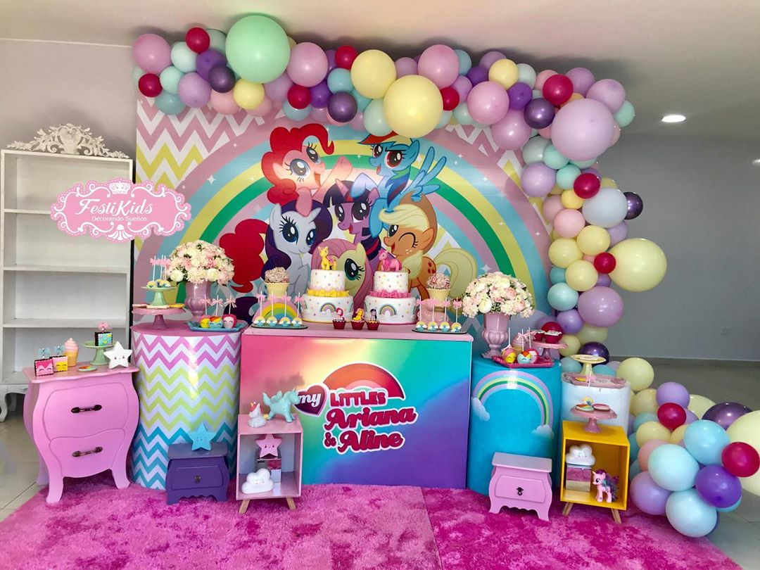 ideas para decorar fiesta de my little pony