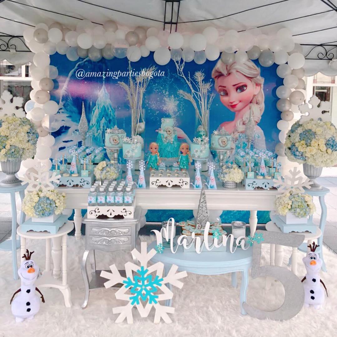 ideas para fiesta de frozen