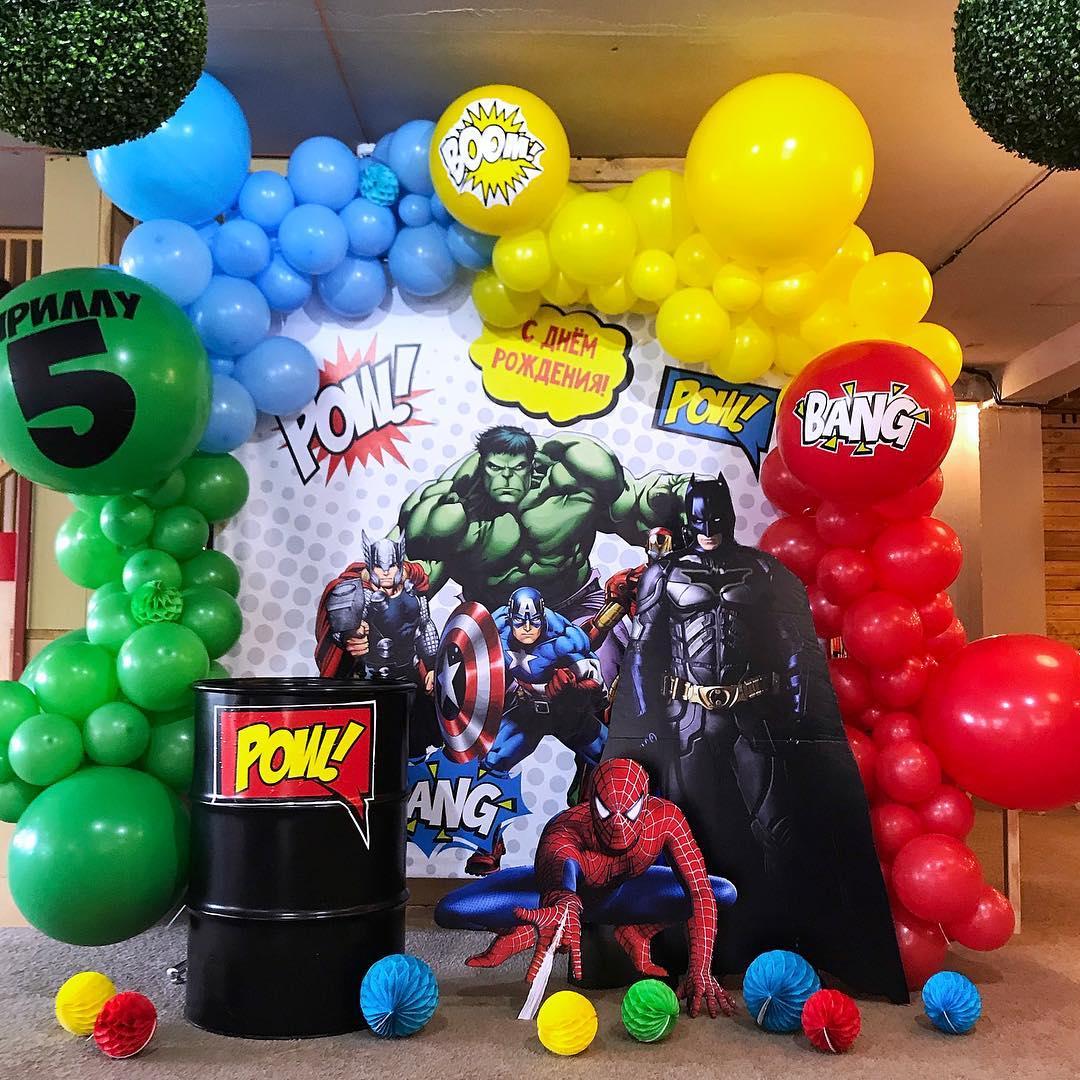 ideas para fiesta infantil de super héroes