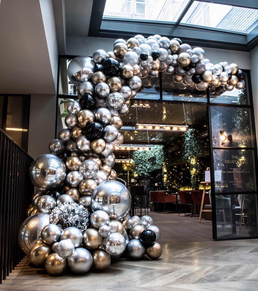marcos con globos