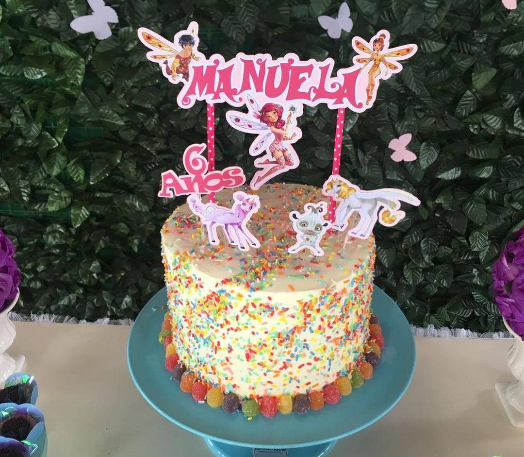 pastel para fiesta tematica de mia and me