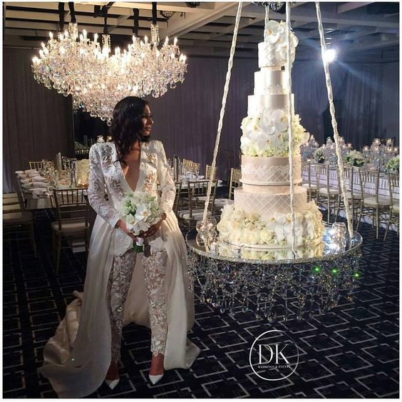 pasteles flotantes para bodas