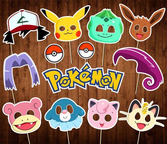 photocall para fiesta tematica de pokemon