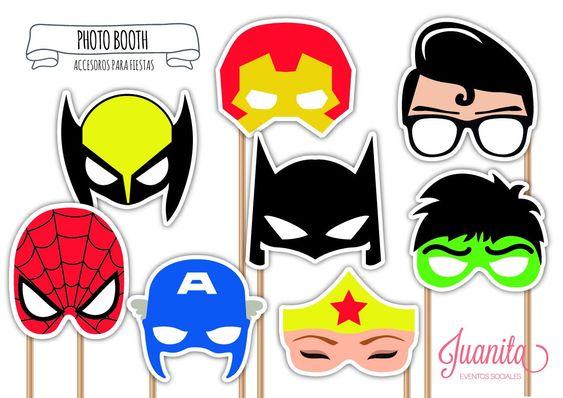 photocall para fiesta infantil de super heroes