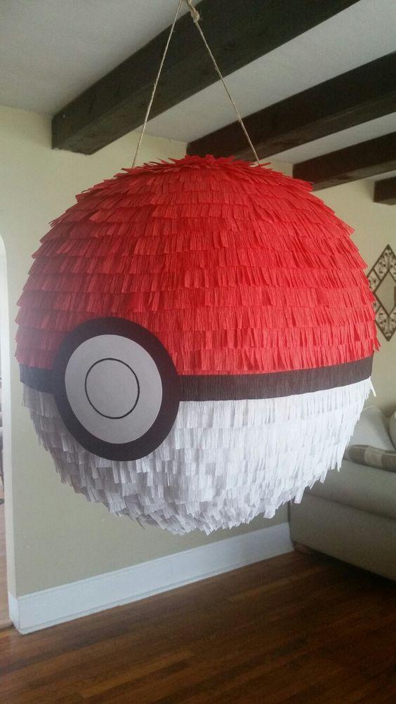 piñata para fiesta tematica de pokemon