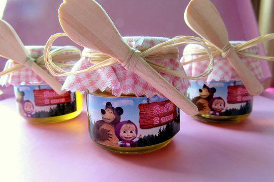 99b13d71b souvenirs para Fiesta de cumpleaños de Masha y el Oso | Ideas para ...